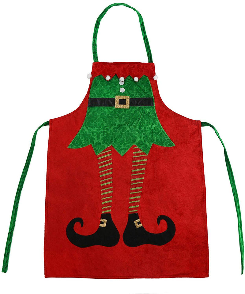 Classic Elf Holiday Apron