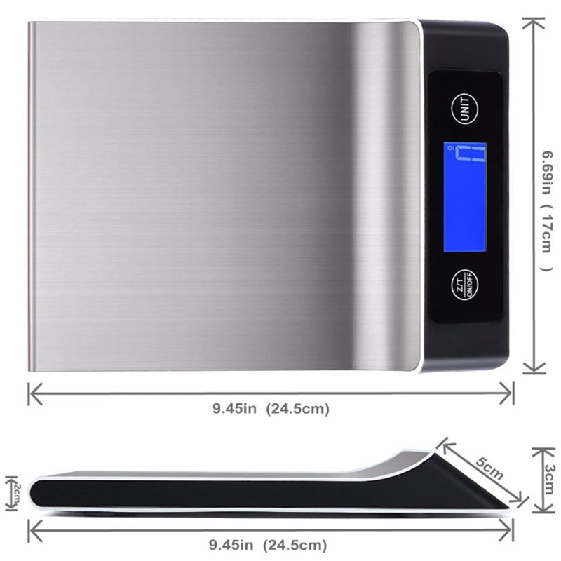 Stainless Steel Multifunction Digital Scale