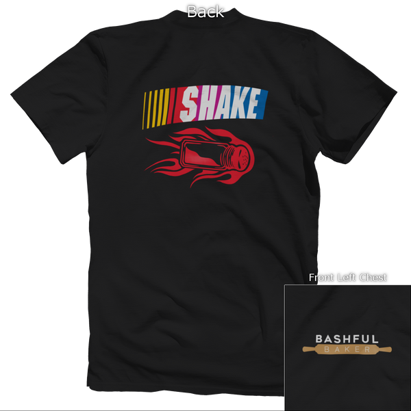 SHAKE & Bake Back Design