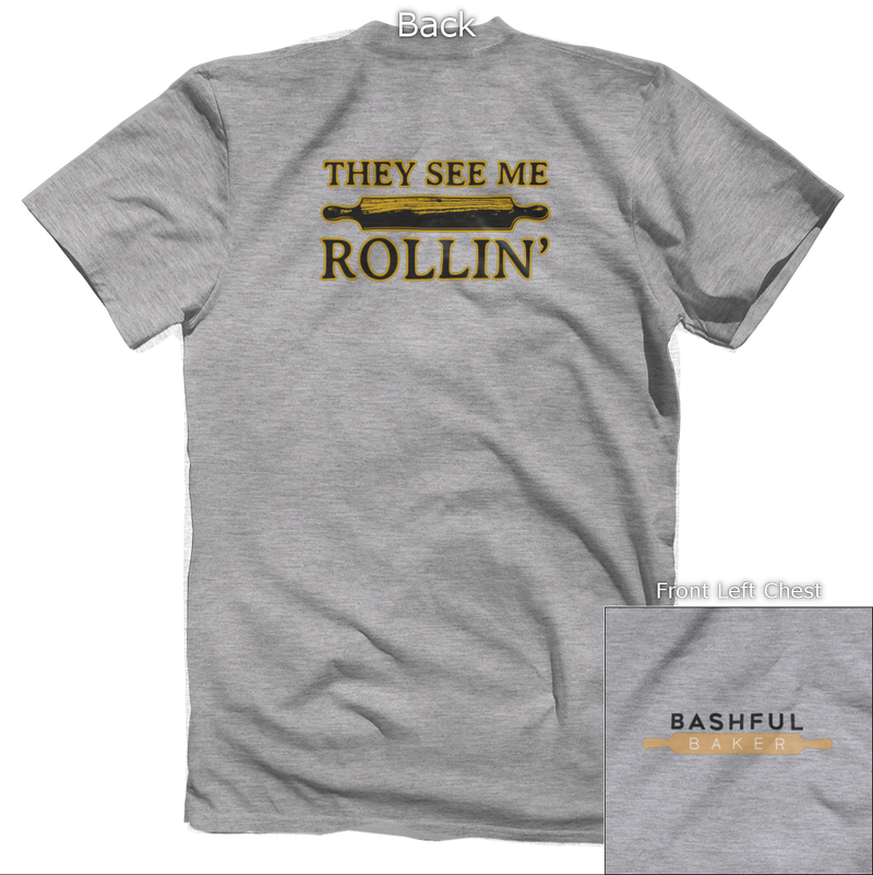 They See Me Rollin' Back Design