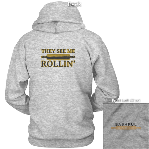 Image of They See Me Rollin' Back Design
