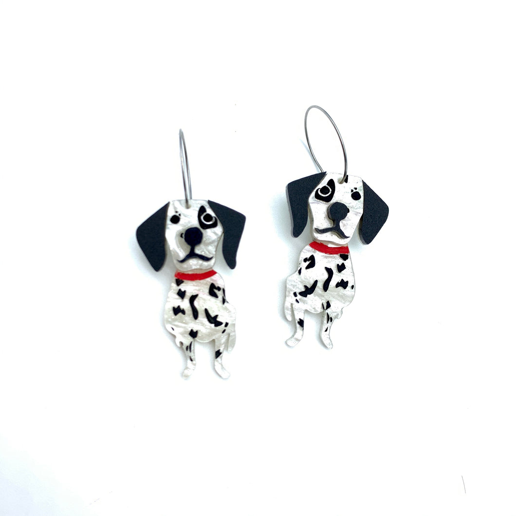 Maxie and Millie the Dalmatian dangles