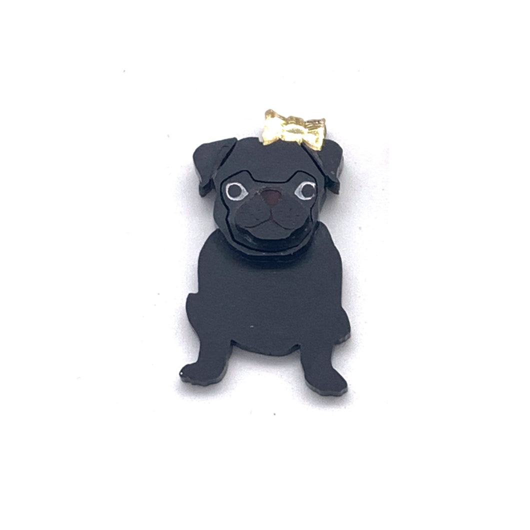 Gracie our Pug Badge