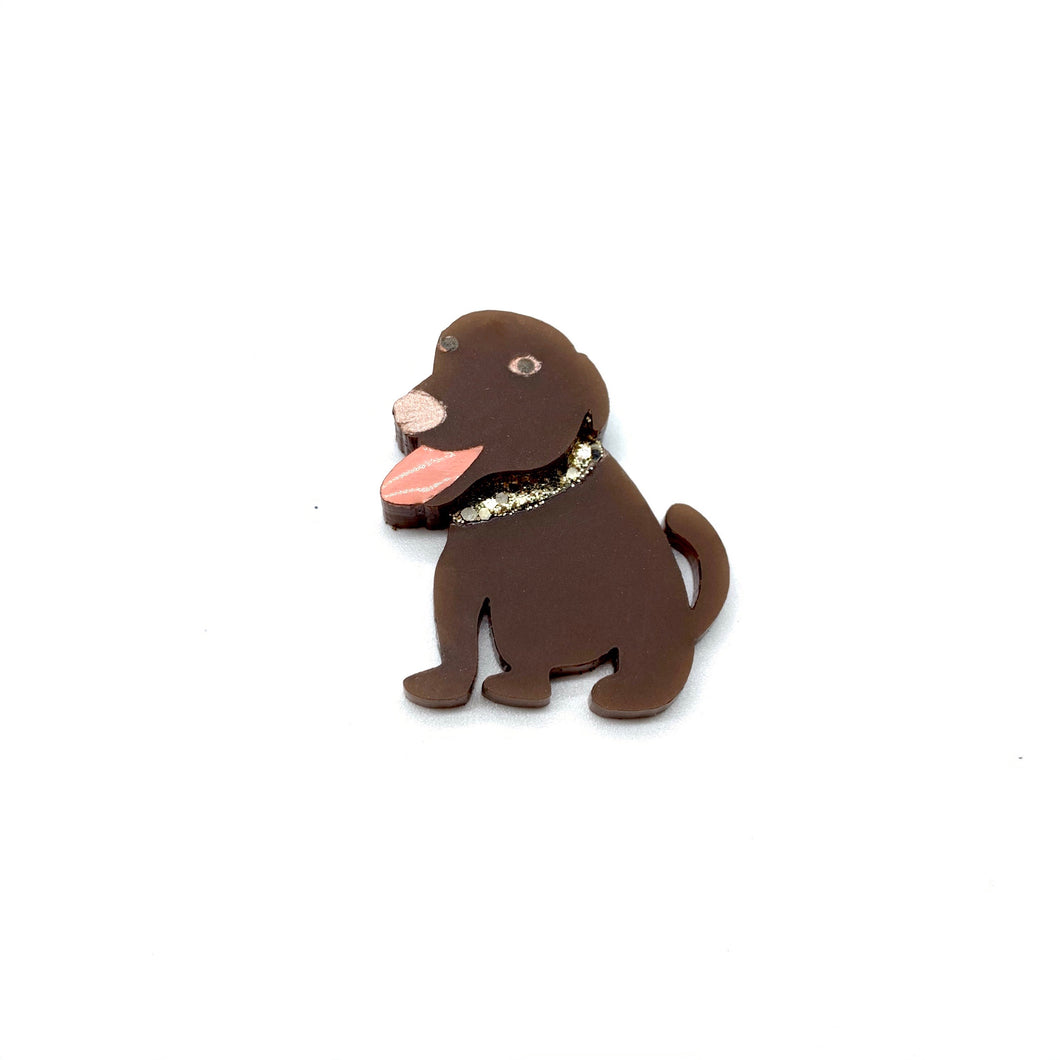 Chappy the Labrador Badge