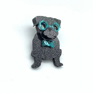 Grantly our Pug Badge