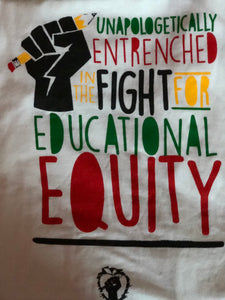 Educational Equity T-Shirt White