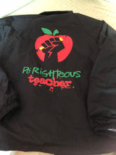 Load image into Gallery viewer, Po Righteous Teacher Logo Coach's Jacket
