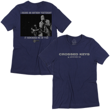 Load image into Gallery viewer, Crossed Keys Anthem T-Shirt