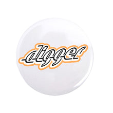 Load image into Gallery viewer, Digger Logo Pin - White