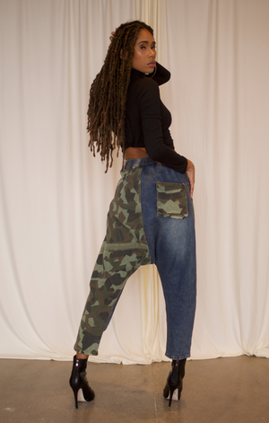 Camouflage Baggy Swaggy Jeans