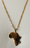 18k Gold Plated Motherland Unisex Chain