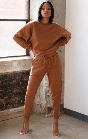 The Perfect Jogger Set (Caramel)