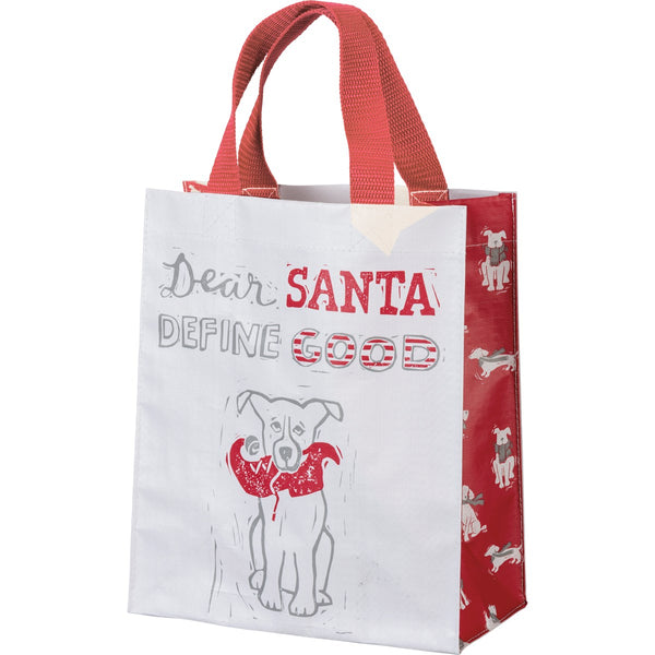 Dear Santa Define Good Bag