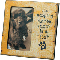 I'M ADOPTED PHOTO FRAME