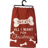Treats - All I want for Christmas Towel