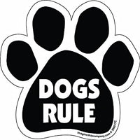 DOGS RULE MAGNET