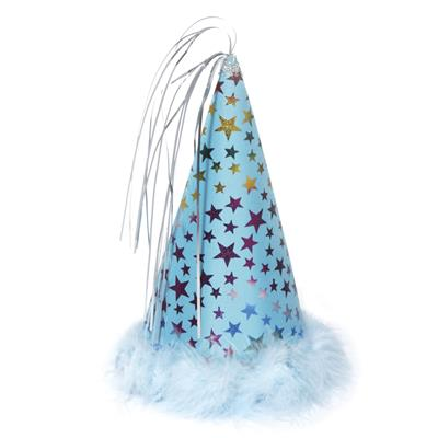BLUE PARTY HAT - SMALL