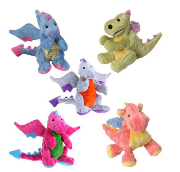 GoDog Large Dino and Dragon Plush Toys