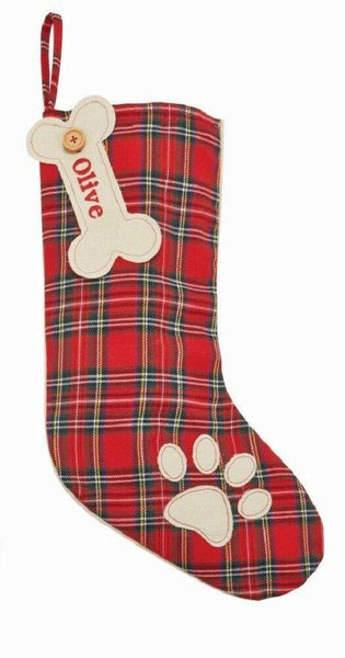Red Tartan Stocking