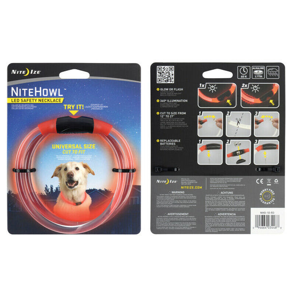 NiteHowl LED collar