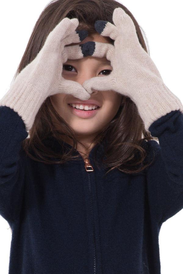 Kids Cashmere Gloves