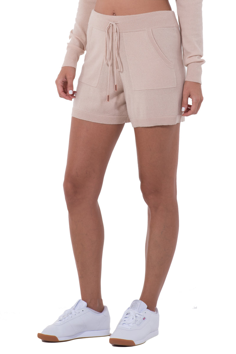 WOMENS CASHMERE SHORTS