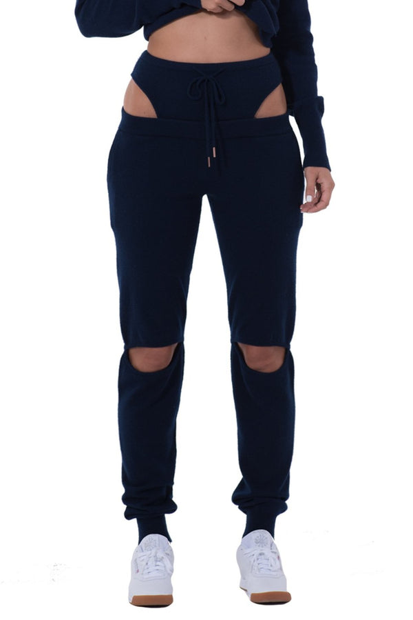 Womens Novelty Cashmere Pant
