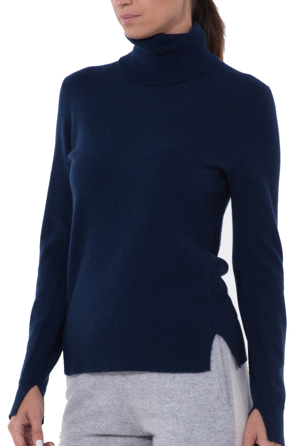 Womens Cashmere Turtleneck