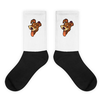 Unisex Puppy Face Socks