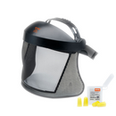 Stihl Face / Ear Protection with Nylon Mesh Visor and ear plugs