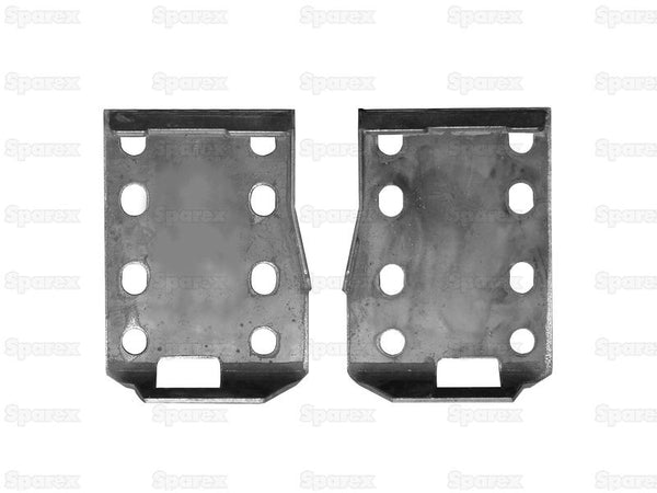 Loader Bracket (Pair), Replacement for: Bobcat Type Fitting ( S.119879 )