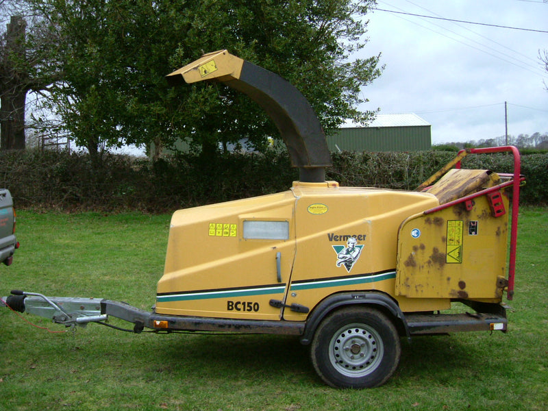 Used Vermeer BC150 Woodchipper 8 Inch Woodchipper