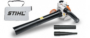 Stihl SH86 Blower, Leaf Collector, Vacuum with Bag and Hoses