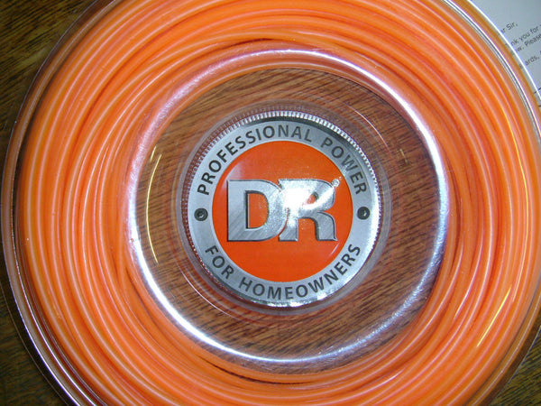DR Trimmer Line Orange (3.5mm x 120ft) Dr strimmer Line, DR 3.5mm Strimmer Line