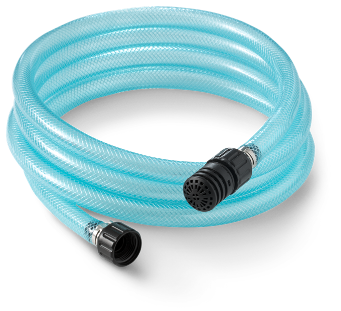 Husqvarna 3m Suction Hose to fit all Husqvarna pressure washers