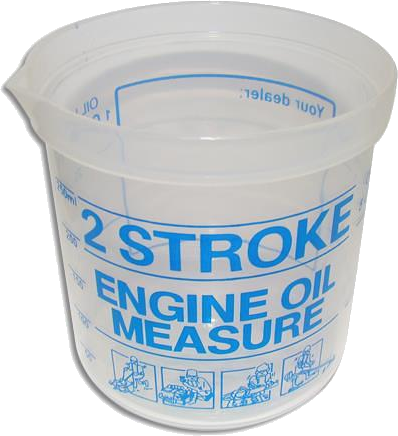 2-Stroke Oil Measure