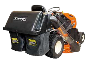 Kubota GCK42 2 Bag Collector