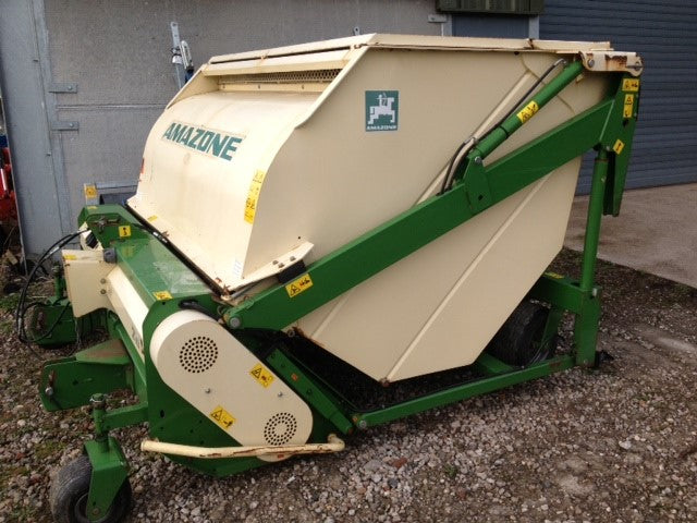 Used Amazone 210 Groundkeeper GHS210 Jumbo Flail Mower / Collector