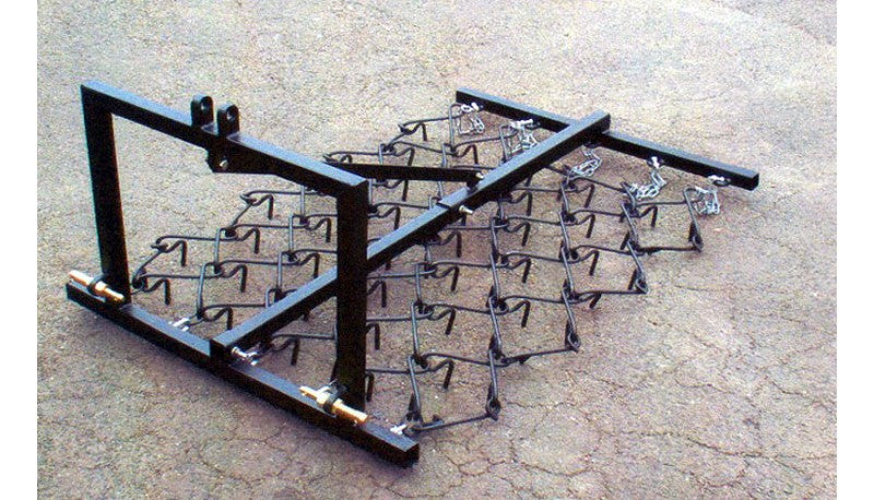 Three Point Linkage Economy Mounted Chain Harrows (4ft, 5ft and 6ft )