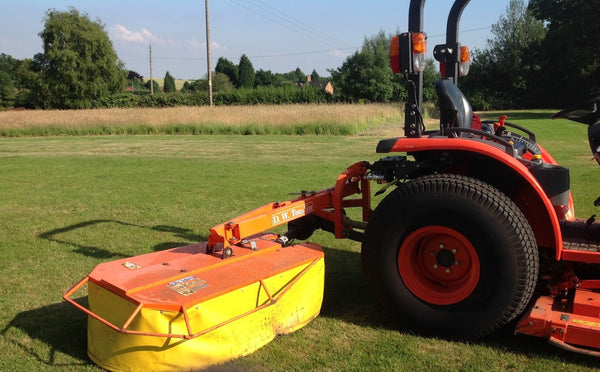 Compact Tractor Hay Mower Tomlin Compact Tractor Drum Mower