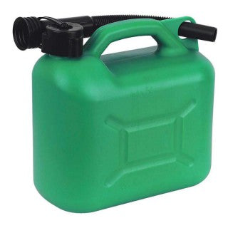 Green Plastic Fuel Can ( 5L )