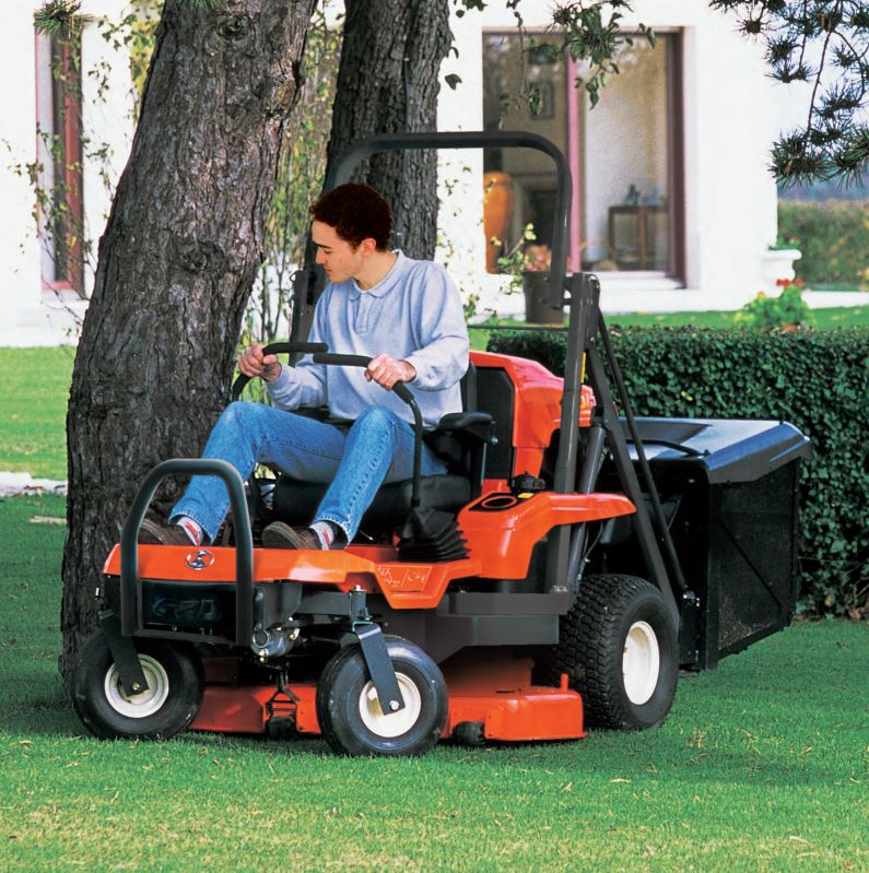Kubota GZD15 Zero Turn Rideon Mower