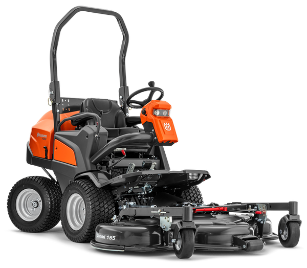Husqvarna P525D Commercial Ride on Front Mower Diesel with 132cm Outfront Deck