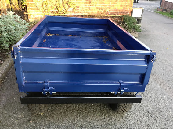 1.5t Tipping Trailer With Drop Sides (Removeable) - 1500kgs