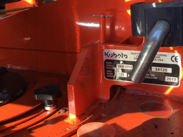 Kubota G23LD ( fitted with RCK48-G23-2 Mower Deck ( Breaking for Parts )
