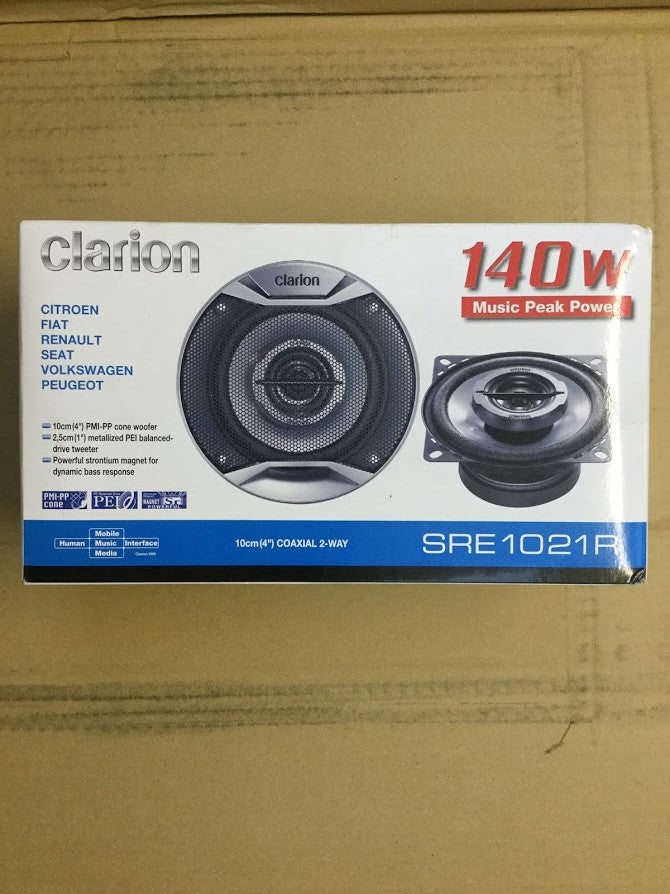 New Clarion SRE1021R Speakers