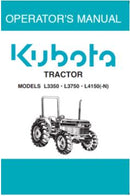 Kubota Operators Manual - L3350, L4150 (-N) Tractor