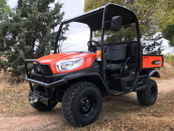New Kubota RTVX1110 Rough Terrain Vehicle ( Orange, HDWS, ROPS )