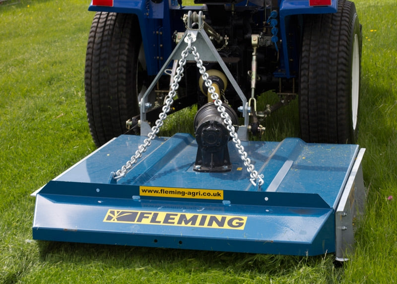 Fleming Compact Tractor Grass Toppers / Paddock Toppers 3ft, 4ft, 5ft and 6ft.