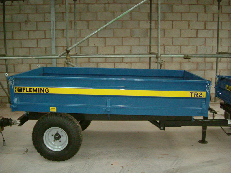 2t Fleming TR2 2 Tonne Hydaulic Tipping, Trailer,Fleming 2 tonne Hydraulic Tipping Trailer.